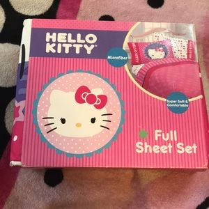 Brand new hello kitty bed set